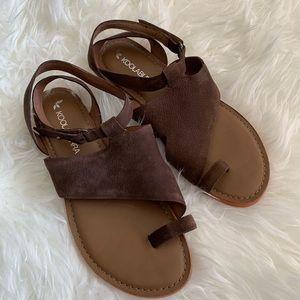 🌴Koolaburra By Uggs Suede Wraparound Sandals